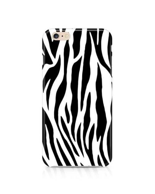 Etui na telefon - plastikowe, z nadrukiem, idealnie dopasowane do telefonu.zebra