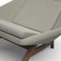 Fotel_MITO_Fotel do wypoczynku. Jest duży i bardzo komfortowy. Jego kształt przyciąga uwagę.Szary.