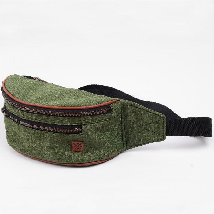 Nerka Nuff hike oxide - Zieleń + brąz - Military green