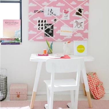 MemoryBoard – tablica. Chmurki na różowym.