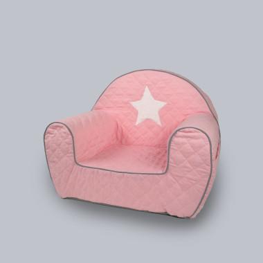 Gwiazda Pink (White) - wygodny fotelik dla dziecka