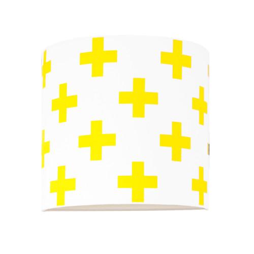 Kinkiet Krzyżyki żółte