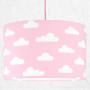 youngDECO lampa sufitowa chmurki na różowym 2