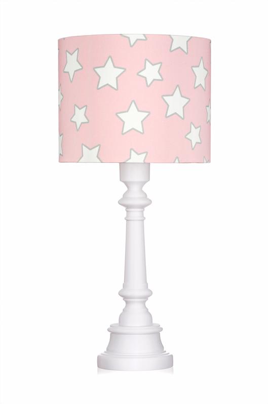 LAMPA DLA DZIECI - PINK STARS