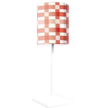 Lampka nocna z nadrukiem-kolorowy abażur świąteczny/zimowy