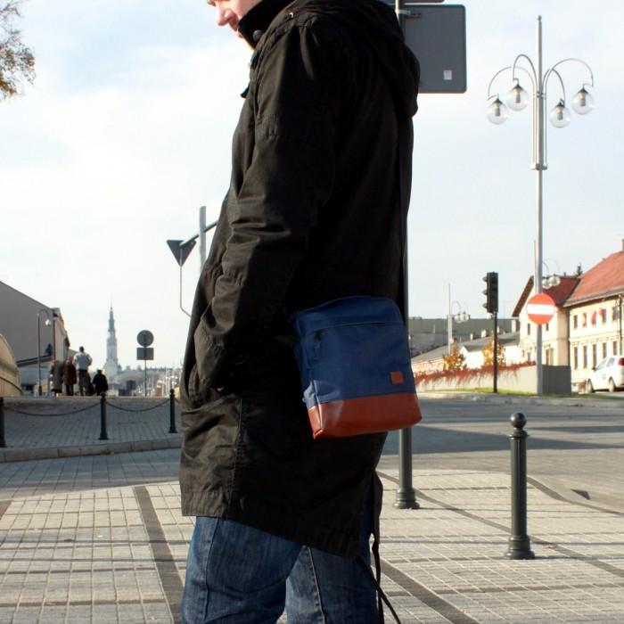 Torba / saszetka na ramię Nuff wear - granat
