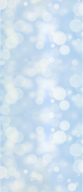 Blue XMAS-niebieska tapeta do pokoju dziecka.