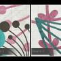 Powiew wiosny - nowoczesny, pastelowy obraz na płótnie