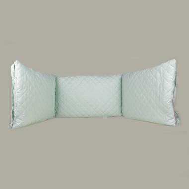 Mint & Berry - pikowany ochraniacz na boki łóżeczka