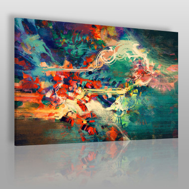 Archipelag marzeń - nowoczesny obraz na płótnie