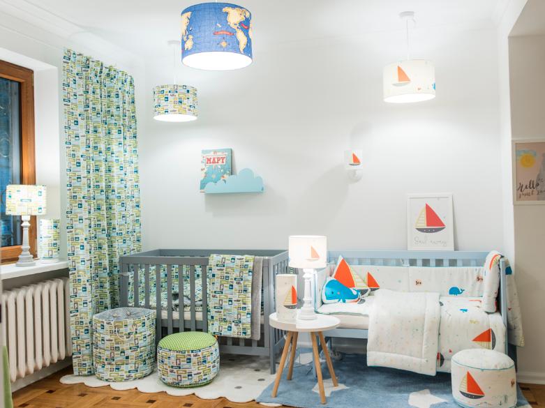Półka Do Pokoju Dziecka Chmurka Niebieska