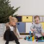 Kolorowa, niska, pojemna komoda do pokoju dziecka, sypialni, salonu lub gabinetu.