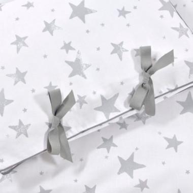 Pościel dla dzieci i niemowląt Gwiazdy szara