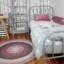 Metalowe łóżko do pokoju dziecięcego Wave 90x200cm