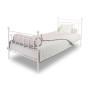 youngDECO łóżko metalowe CLASSIC białe 1