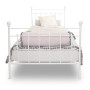 youngDECO łóżko metalowe CLASSIC białe 2