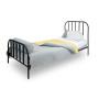 youngDECO łóżko metalowe SCANDI czarne 1
