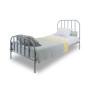 youngDECO łóżko metalowe SCANDI szare 1