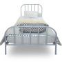 youngDECO łóżko metalowe SCANDI szare 2