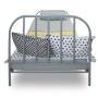 youngDECO łóżko metalowe SCANDI szare 3