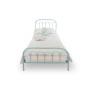 youngDECO łóżko metalowe WAVE turkusowe 2