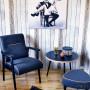 Oryginalny fotel inspirowany wzornictwem lat 70-tych '
