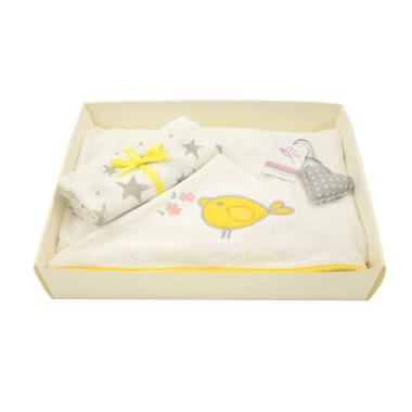 Zestaw 2w1 dla dzieci i niemowląt-ręcznik i pieluszki-idealny na prezent.