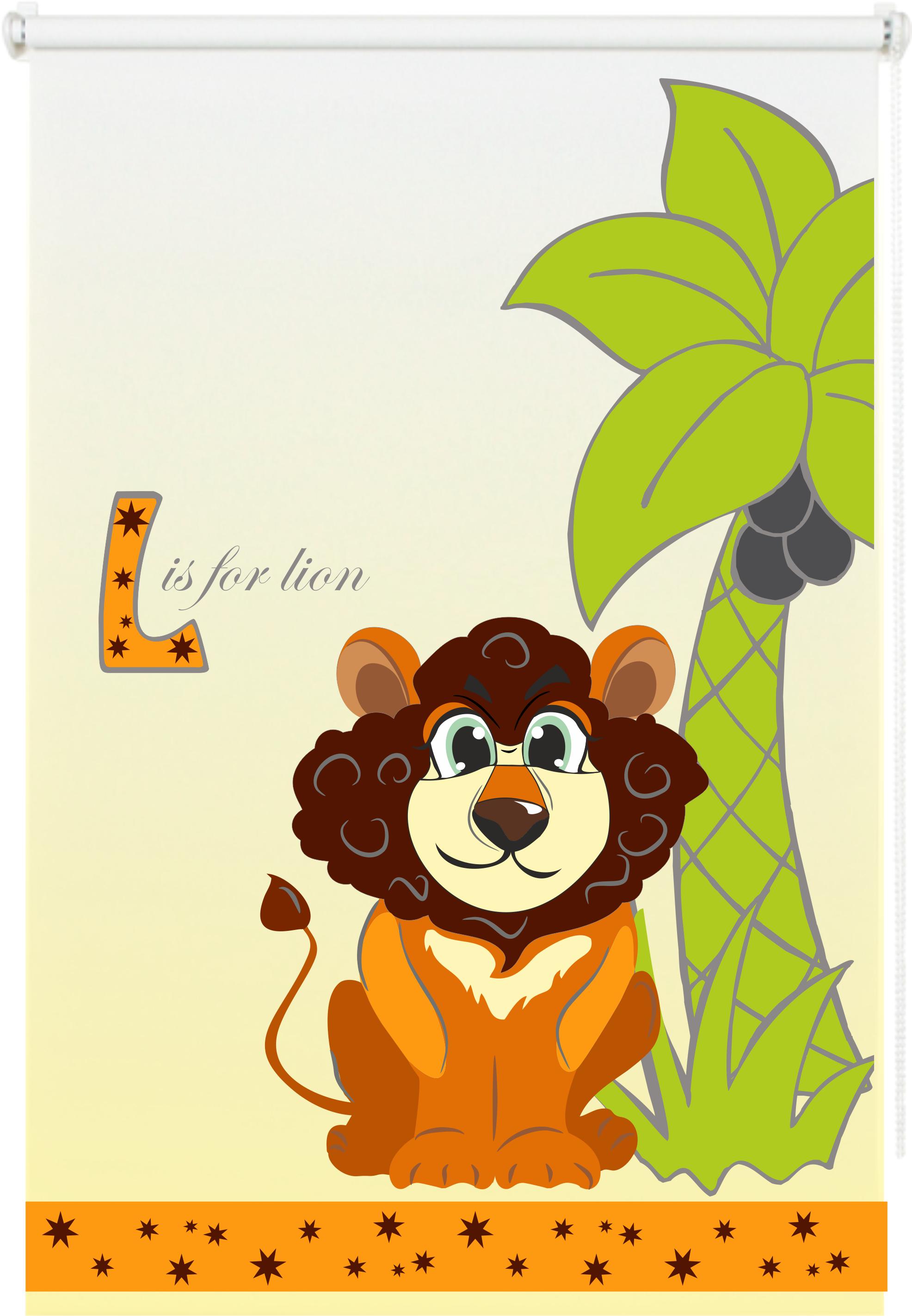 Roleta mini Safari Lew