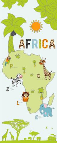 Tapeta do pokoju dziecka- Safari.