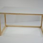 Biurko w minimalistycznym stylu, inspirowane stylem skandynawskim.