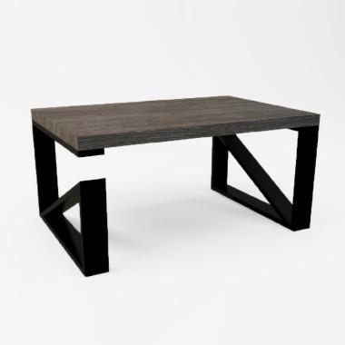 Prosta forma stolika łączy w sobie minimalistyczny styl skandynawski z surowością industrialnych wnętrz. Blat drewniany z widocznymi słojami, może być lekko postarzane w połączeniu z metalem nada wnętrzu niepowtarzalny charakter. Meble z drewna są niezwykle wytrzymałe i przetrwają dziesięciolecia, gdzie z każdym rokiem będą zyskiwać na uroku i przez swoją naturalność wprowadzą do wnętrza spokój i świeży powiew natury. BLAT STOLIKA wykonany z drewna dębowego o grubości - 30 mm zabezpieczony olejem lub lakierem matowym. STELAŻ stolika wykonany z profilu stalowego 80x20 mm malowanego proszkowo w kolorze czarnym matowym. WYMIARY - w opcjach wyboru INDYWIDUALNE ZAMÓWIENIA Możliwość zamówień indywidualnych, pod względem zmiany wymiarów stolika, kolorystyki oraz zastosowania innego gatunku drewna.
