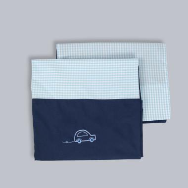 Auto - poszewka na kołdrę i poduszkę