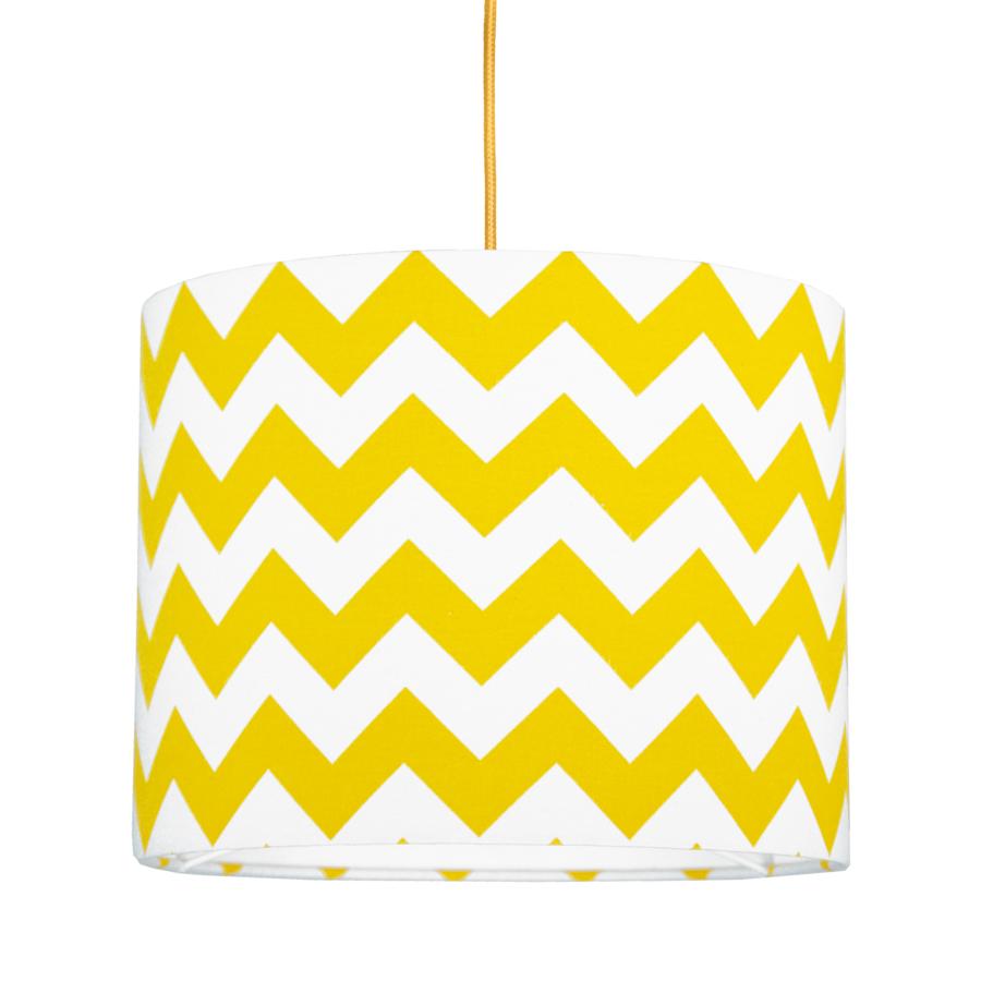 youngDECO lampa sufitowa MINI chevron żółty
