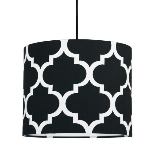 youngDECO lampa sufitowa MINI koniczyna marokańska czarna 1