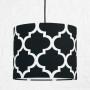 youngDECO lampa sufitowa MINI koniczyna marokańska czarna 2