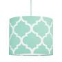 Abażur - Lampa sufitowa mini koniczyna marokańska mętowa