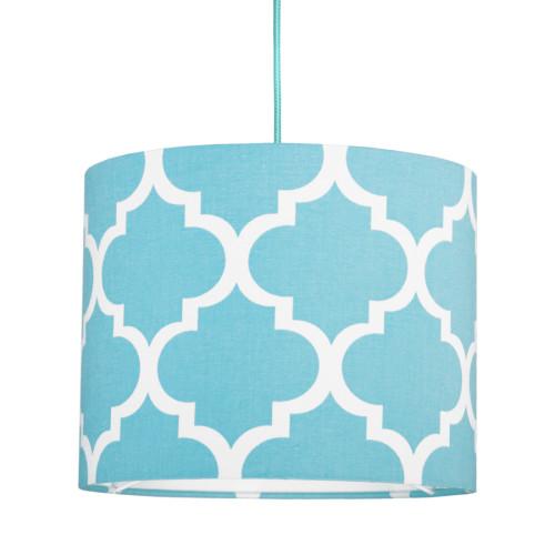 youngDECO lampa sufitowa MINI koniczyna marokańska turkusowa 1