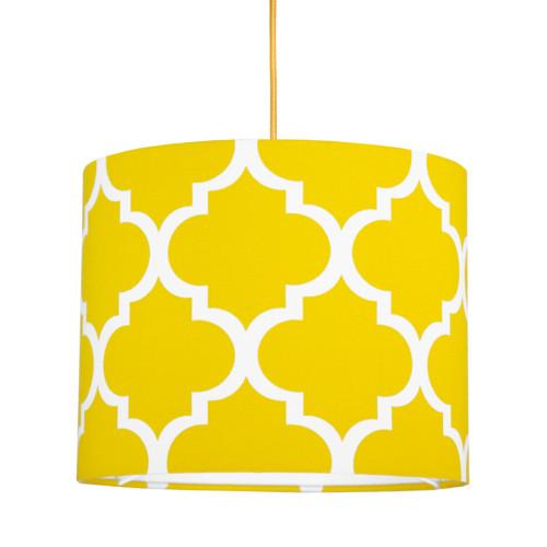 youngDECO lampa sufitowa MINI koniczyna marokańska żółta 1