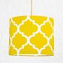 youngDECO lampa sufitowa MINI koniczyna marokańska żółta 2