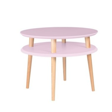 UFO-stolik-kawowy-dusky-pink-śr.-57cm