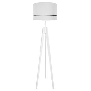 youngDECO lampa podłogowa trójnóg porcelanowy szary