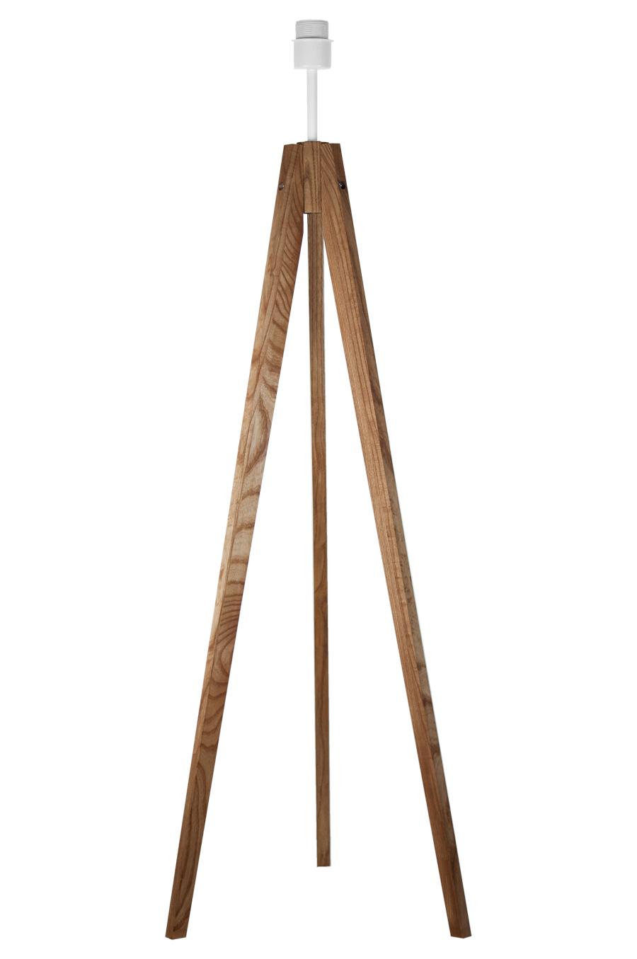 youngDECO podstawa lampy podłogowej trójnóg dębowy (2)