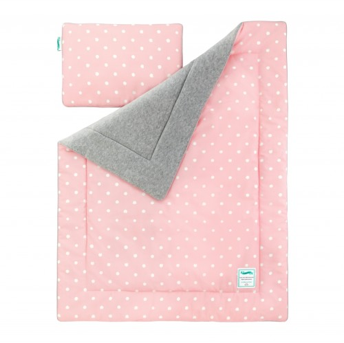 KOCYK OCIEPLANY LOVELY DOTS PINK