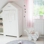 Oryginalna lampa wisząca/ żyrandol do pokoju dzieci z kolorowym abażurem w kropki