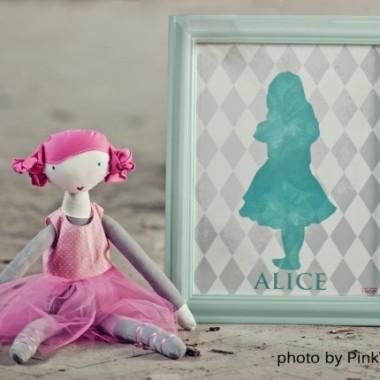 Plakat Alicja z kolekcji Wonderland