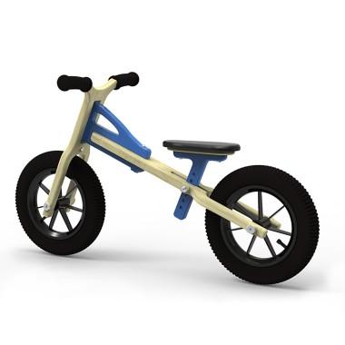 rowerek biegowy ANTEK niebieski