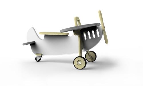 Samolot do jeżdżenia dla malucha.