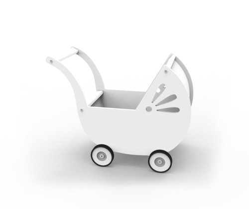 wózek dla lalek LILA Biały