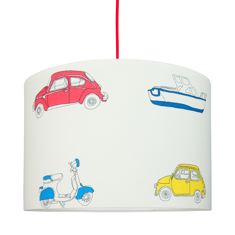 Lampa sufitowa auta