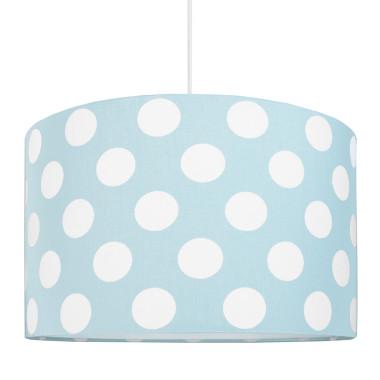 Lampa sufitowa grochy na miętowoturkusowym